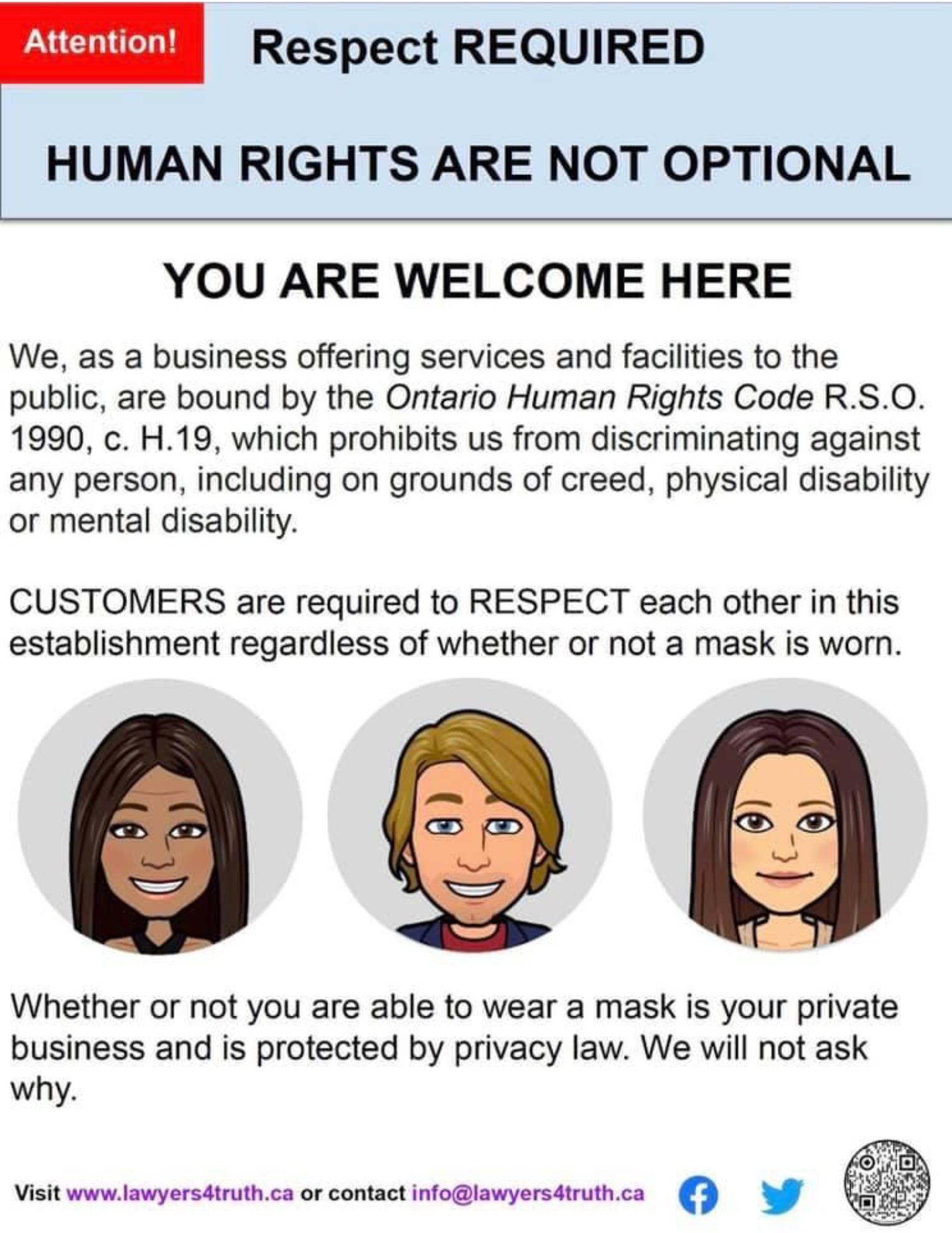 Respect Poster-Ontario